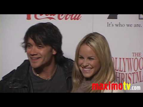 DOMINIC ZAMPROGNA and JULIE MARIE BERMAN at The Hollywood Christmas Parade 2009 Video