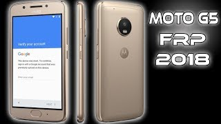 REMOVE FRP MOTO G5 BYPASS GOOGLE ACCOUNT MOTOROLA LATEST