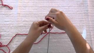 Pletenje: nizanje s dvije igle