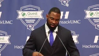 Justin Tuck: 'We didn't like Coach Coughlin'