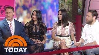 Get A Total Bellas Preview From Nikki And Brie Bella John Cena Daniel Bryan TODAY