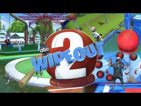 Wipeout 2 | Gameplay WII | Animadora vs Santa Claus/Papa noel | JotaSrGamer y Michiru