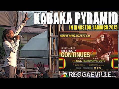 Kabaka Pyramid @Bob Marley 70th Birthday Celebration in Jamaica [Feb 6th 2015]