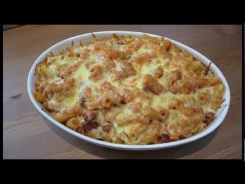 Macarrones con chorizo - Recetas de pasta