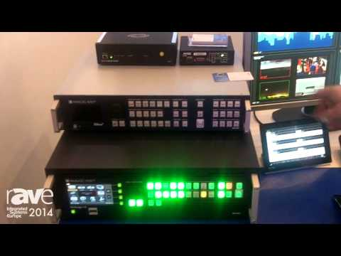 ISE 2014: Analog Way Presents New Drivers for Controlling Midra and LiveCore Switchers