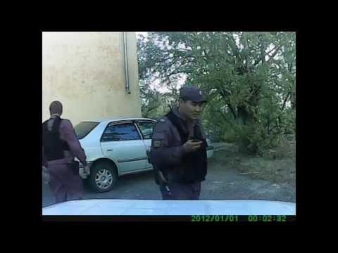 Задержание подозреваемого в краже из авто