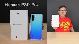 แกะกล่อง ยลโฉม ตัวจริง Huawei P30 Pro