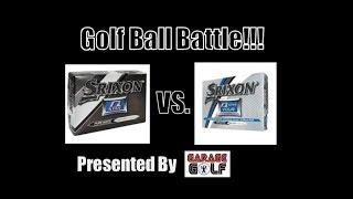 Srixon Q Star vs Srixon Q Star Tour Golf Ball Battle!