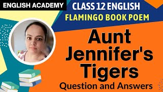 an analysis of the poem aunt jennifers tigers by adrienne rich Adrienne rich analysis poem analysis: analysis of poem aunt jennifer's tigers by adrienne rich , aunt jennifer sits sewing her tigers of wool into a panel.