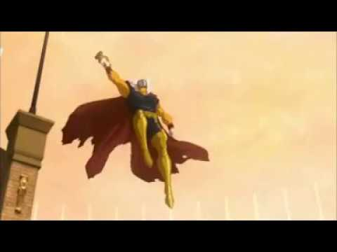 Бета Рей Билл освобождает пленников Красного короля.  Гладиаторы против стражы (Планета Халка 2010)