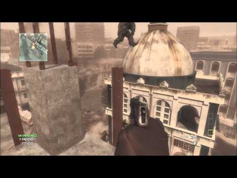 MW3 Glitches - Ontop Of & Out Of Map Bakaara