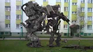 Walka Robot W Czarnk W