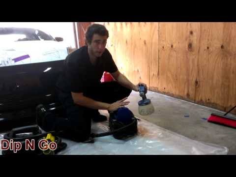 Spray Gun Review For Spraying Plasti Dip