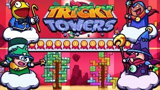 Er hat NUR Goldmedaillen! | Tricky Towers