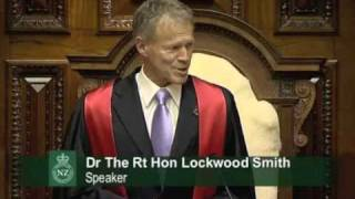 Bill English Thrown Out 030811