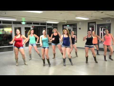 Burnin' It Down Line Dance -   Boot Boogie Babes video