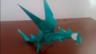(origami) How To Make Flying Dragon (part 1)