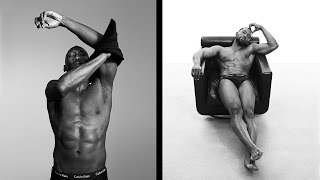 'Moonlight' Stars Mahershala Ali and Trevante Rhodes Strip Down For New Underwear Ads