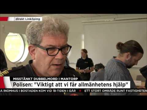 Polisen om kampen mot klockan för att lösa dubbelmordet - Nyheterna (TV4)