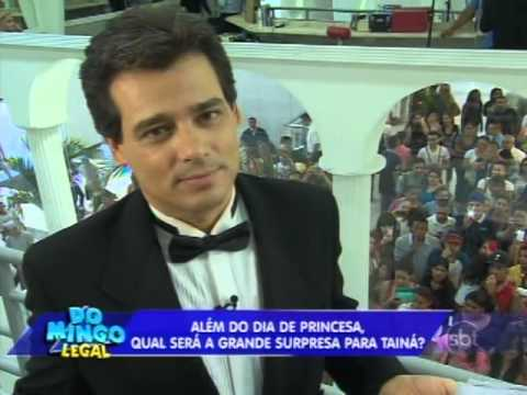 Domingo Legal (06/04/14) - A Princesa E O Plebeu Com Celso Portiolli