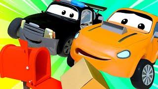 đội xe tuần tra - Thư biến mất - Thành phố xe 🚗 những bộ phim hoạt hình về xe tải