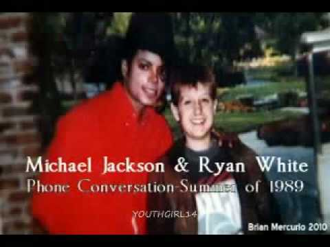 Michael Jackson & Ryan White Phone Call '89