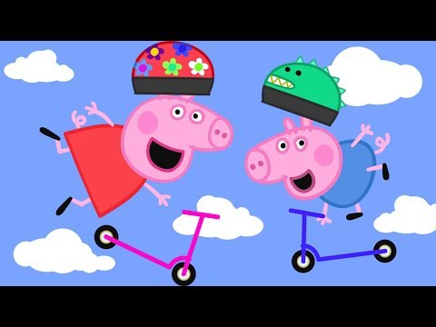 Peppa Pig English Full Episodes Compilation | Scooters HD
