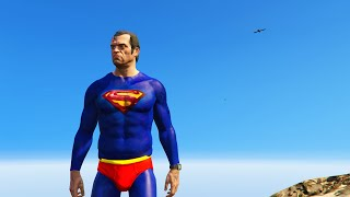ULTIMATE SUPERMAN MOD (GTA 5 Mods Funny Moments)