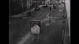 Scary Ghost Shape Footage Caught On Camera