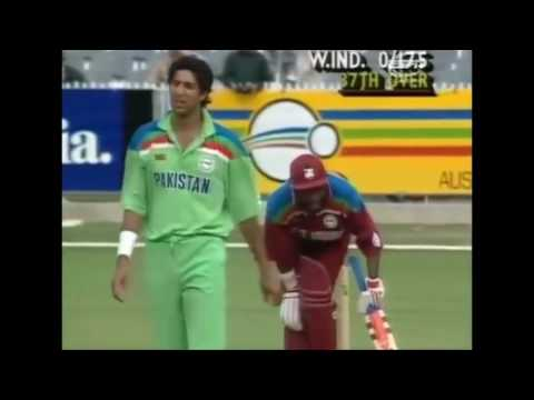 Sultan of Swing. Wasim Akram. 10 unplayable balls bowled by the great Wasim Akram