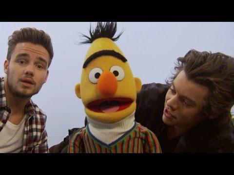 Harry Styles & Liam Payne en Sesame Street Cantan Alfabeto- SUBTITULADO