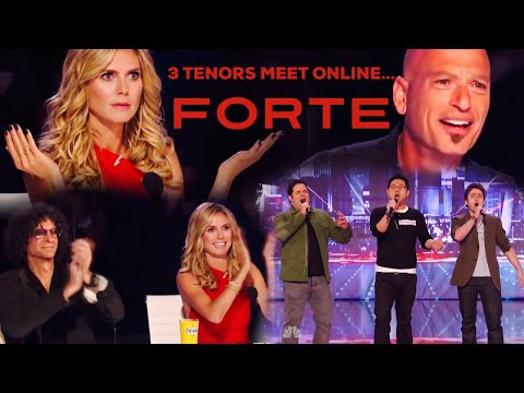Forte Tenors - Pie Jesu -  Americas Got Talent Audition - Season 8