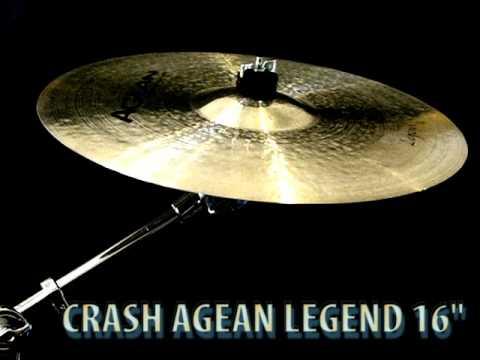"Agean Legend Crash 16"" cymbal"