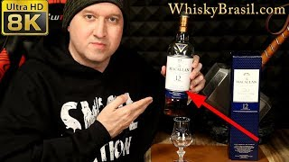 Whisky Brasil 295: Macallan 12 Double Cask Review [8K]