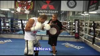 Jose Aldo Sick Power Working With Robert Garcia - EsNews Boxing
