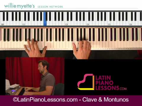 Salsa Piano Lessons - Clave & Montunos Music Videos