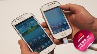 MWC 2013: недорогие смартфоны Samsung Galaxy (English subtitles)
