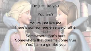 I'm a Girl Like You- Barbie as the Princess and the Pauper w/ Lyrics