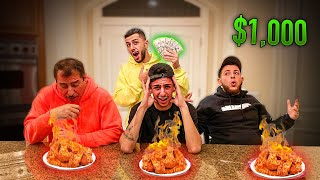 Eat The World's Hottest Wings, WIN $1,000 DOLLARS!