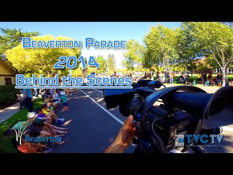 Behind The Scenes - Beaverton Parade 2014