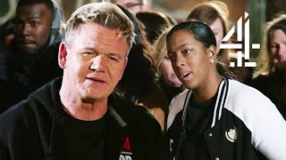 Ramsay SPEECHLESS After Chef Insults His Palette! | Ramsay's 24 Hours to Hell and Back