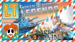 Let's Try World of Warships Legends (PS4) AND Dark Domain (Android)