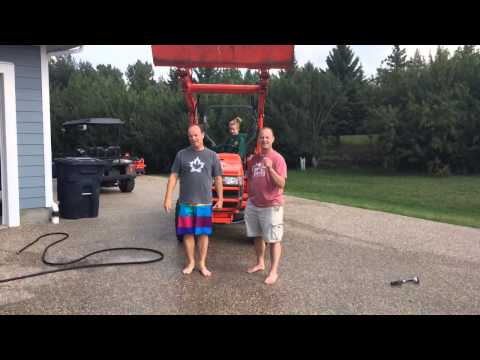 Canadian Energy's Shawn and Darwin take the ALS Ice Bucket Challenge