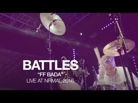 "Battles perform ""FF Bada"" at NRMAL 2016"