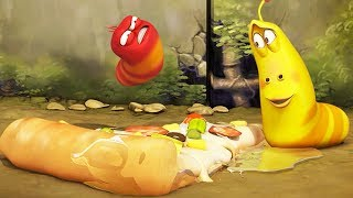 LARVA - TOPPINGS | Cartoon Movie | Cartoons For Children | Larva Cartoon | LARVA Official
