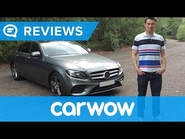 Mercedes E-Class Saloon 2017 review | Mat Watson Reviews