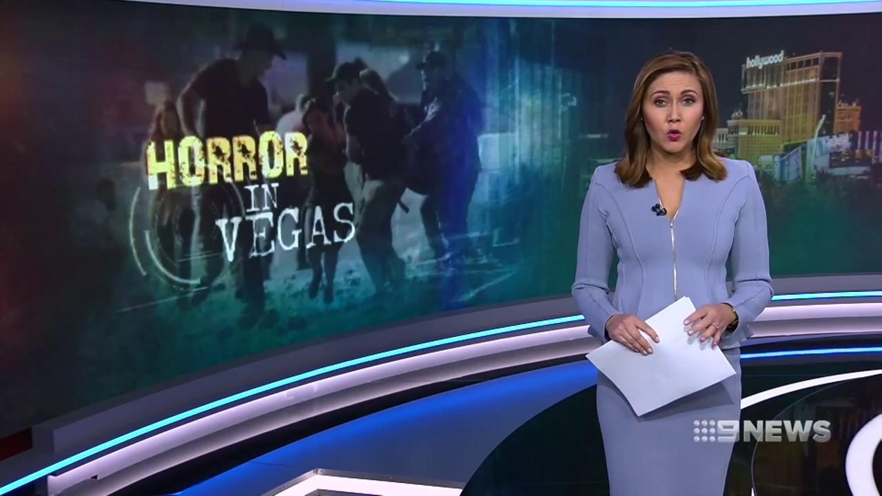 Las Vegas shooting | 9 News Perth