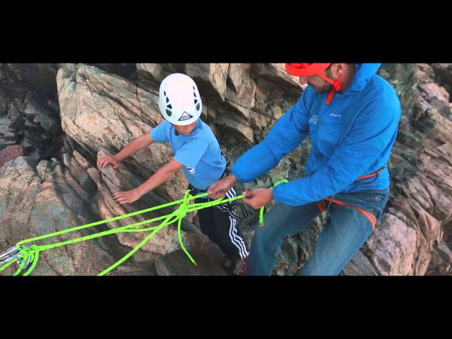 Rock Climbing with the Atlantic Climbing School