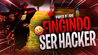 FINGINDO SER HACK COM ALEATORIOS NO FREEFIRE