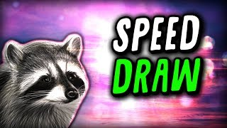 Speed Draw with RaccoonEggs